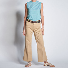Beige denim India Jeans