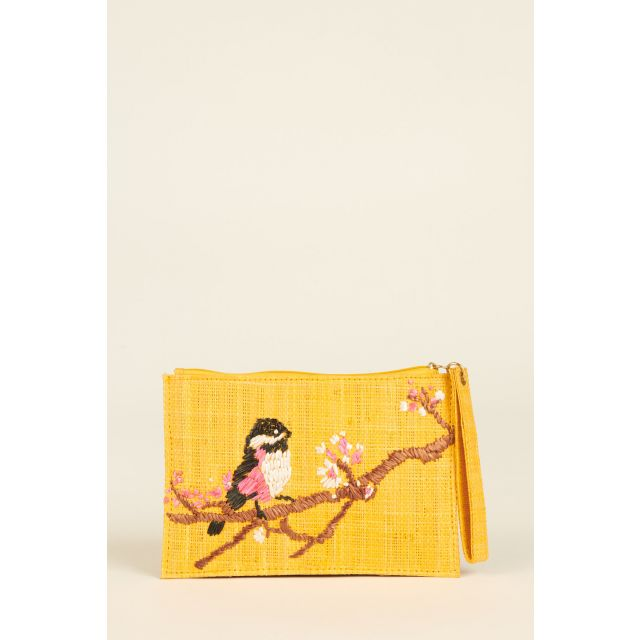 Embroidered Rita Bird bag