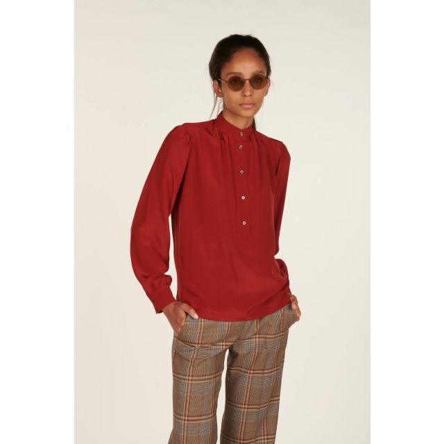 Helena silk shirt