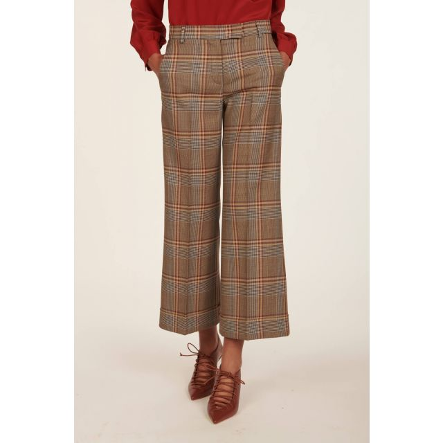 Melody checked trousers