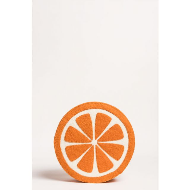 wall decor orange