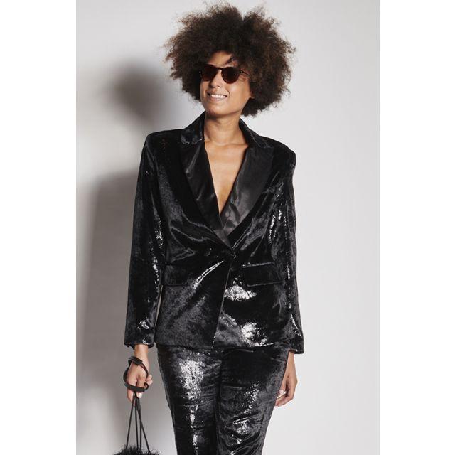 Black lurex jacket