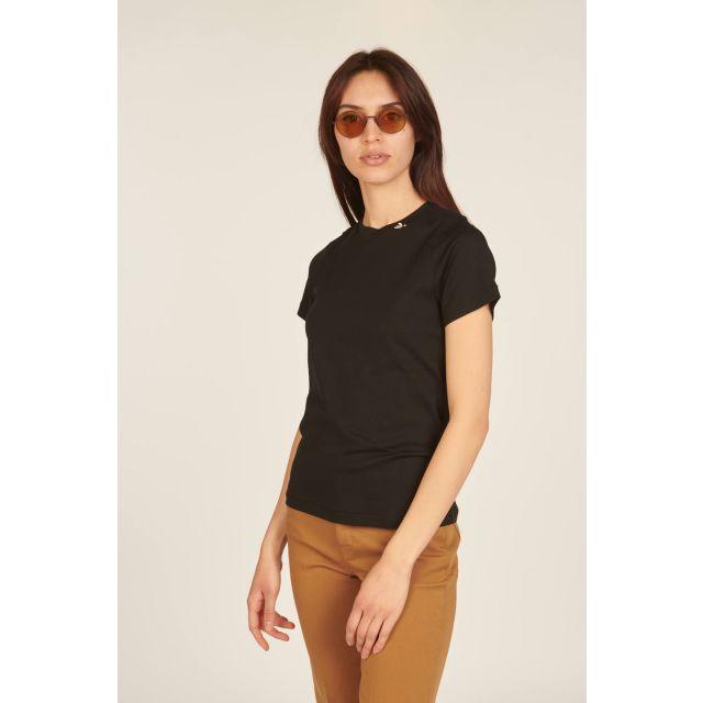Black short-sleeves t-shirt