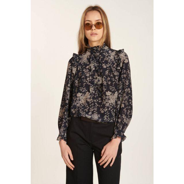 Floral Leslie shirt