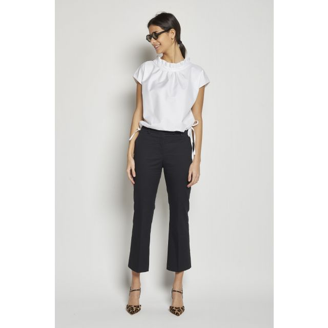 cotton skinny cropped pants