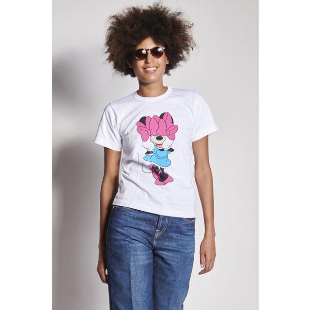 T-shirt con Minnie con fiocchi