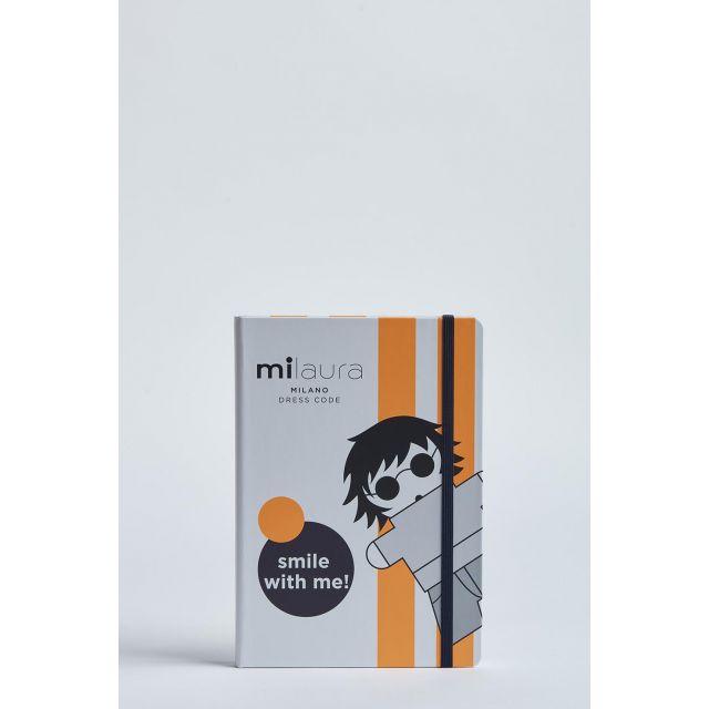quaderno milaura due bande fluo