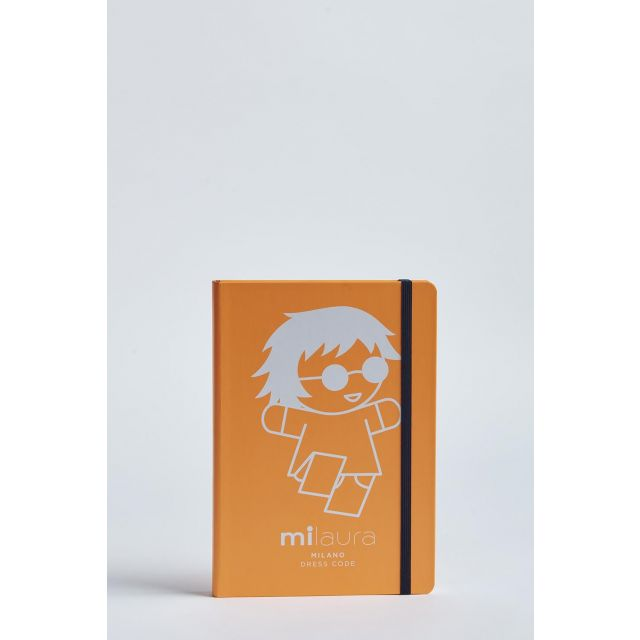 milaura fluo notebook with big doll