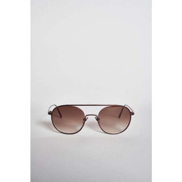 Shanghai III Matt Coffe sunglasses in metal