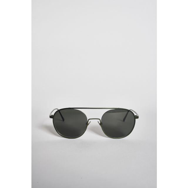 Shanghai III Matt Musk sunglasses in metal