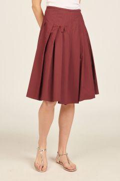 Barolo Pleated Skirt
