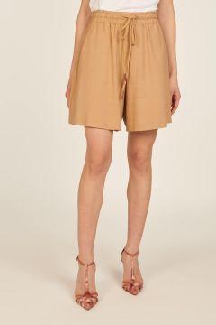 Camel oversized shorts