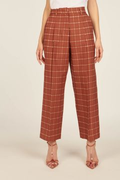 Tailored Checkered trousers