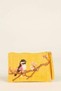 Embroidered Rita Bird bag