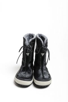 Seal skin boots with rubber sole