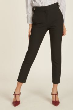 textured skinny pants