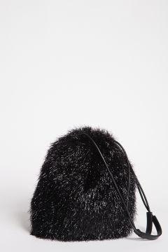 Secchiello lurex nero