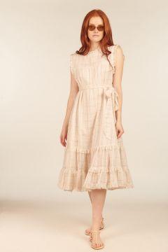 Yoke Midi Dress