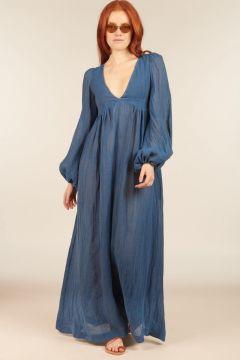 Blue Carolyn Long Dress