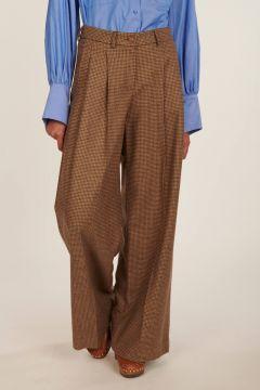 Pantaloni pied de poule Katherine