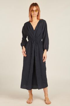 Blue longuette dress