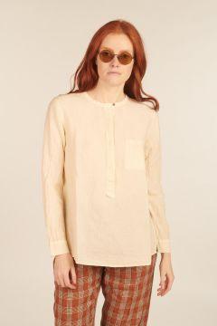Ivory Linen Shirt