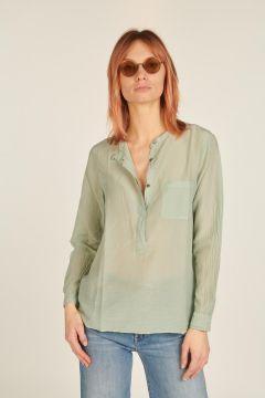Sage Shirt with Pocket
