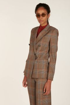 Bice Double-Breasted Tailored Jacket