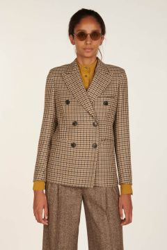 Delia Double-Breasted Tailored Jacket