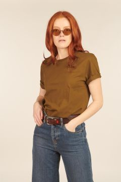 Military Green Bruges T-shirt