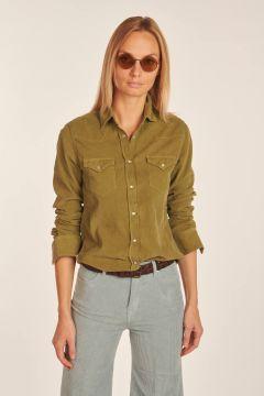 Green Brooke shirt