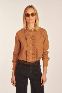 Supreme camel shirt