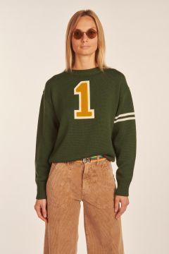 Green sweater Numero 1