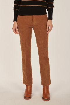 Linda brown velvet trousers