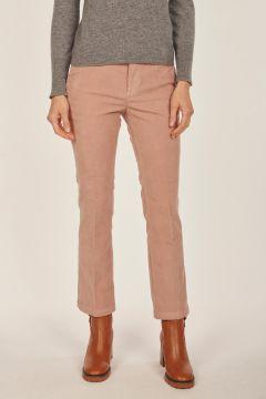Linda pink velvet trousers