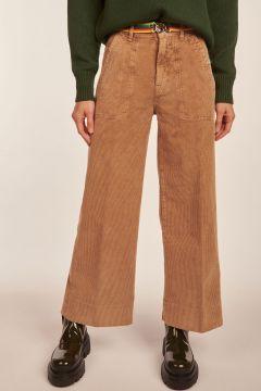 Camel Flora trousers