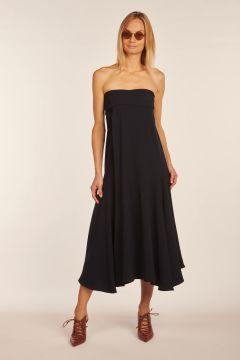 Blu midi dress