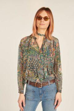 Cashmere patterned shirt