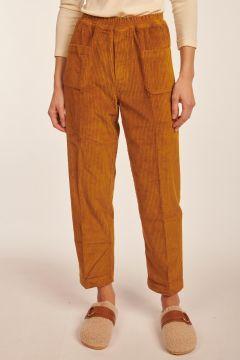 Pantalone Elugo in velluto bruciato