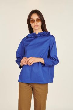 Electric blue Anemone top