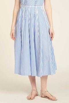 Ines Striped Skirt