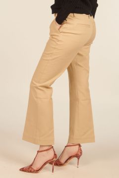 Nellie Beige Trousers