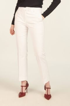 Nellie White Trousers