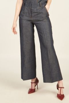Melody Denim Tailored Trousers