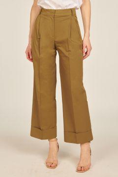 Green Priscilla trousers