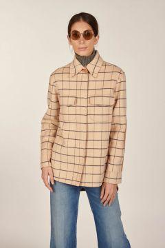 Shirt jacket double check