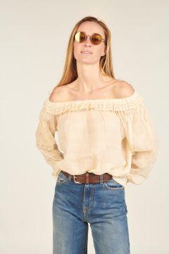 Bare shoulders Sirene shirt
