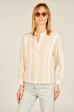 Brunella white long sleeved shirt
