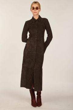 Casia suede dress