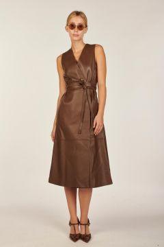 Nappa leather Dibo dress